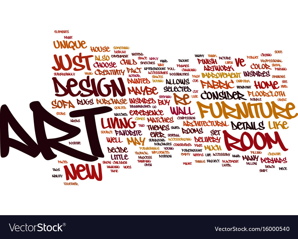 Art And Design Text Background Word Cloud Concept