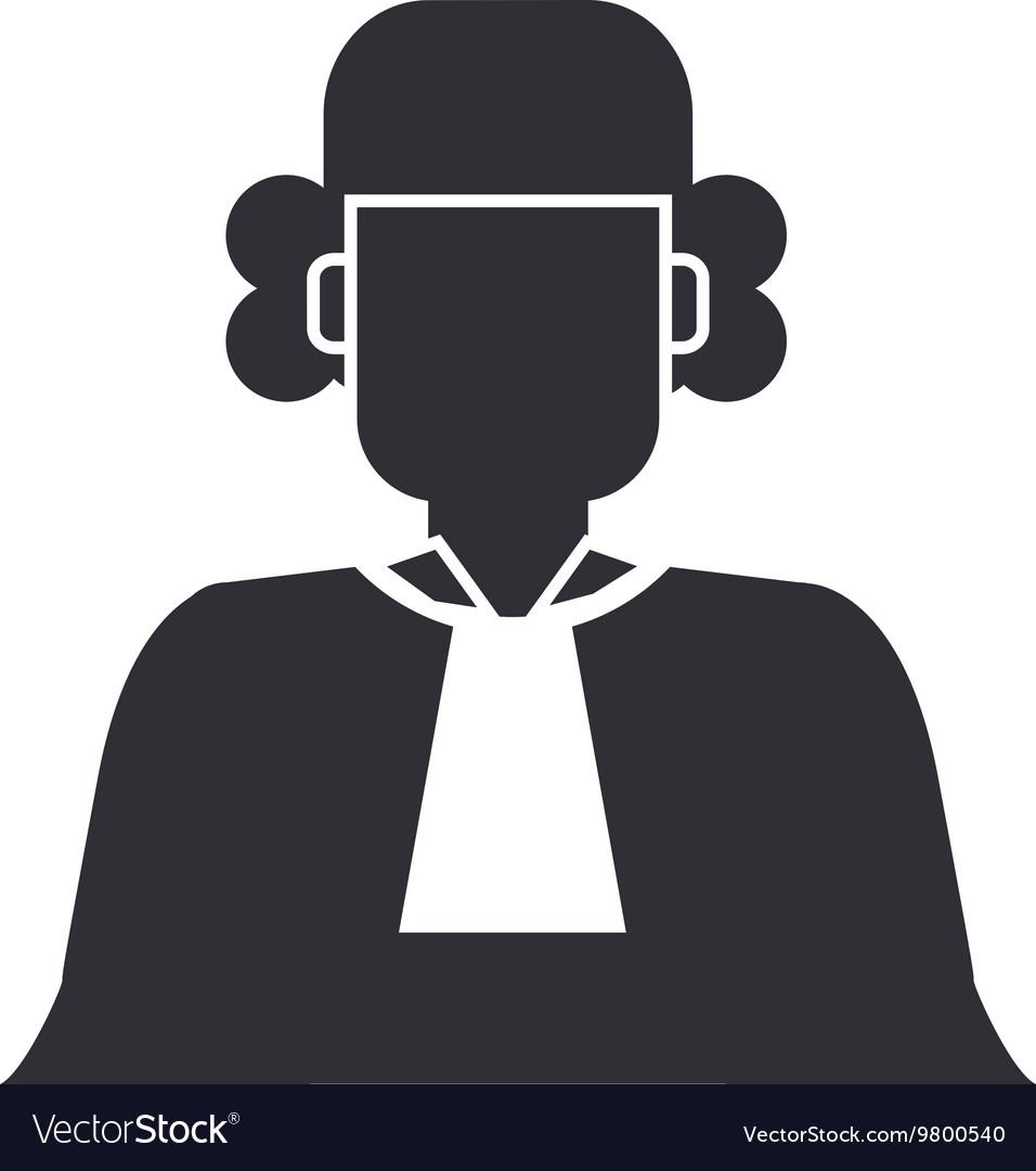 Court judge icon