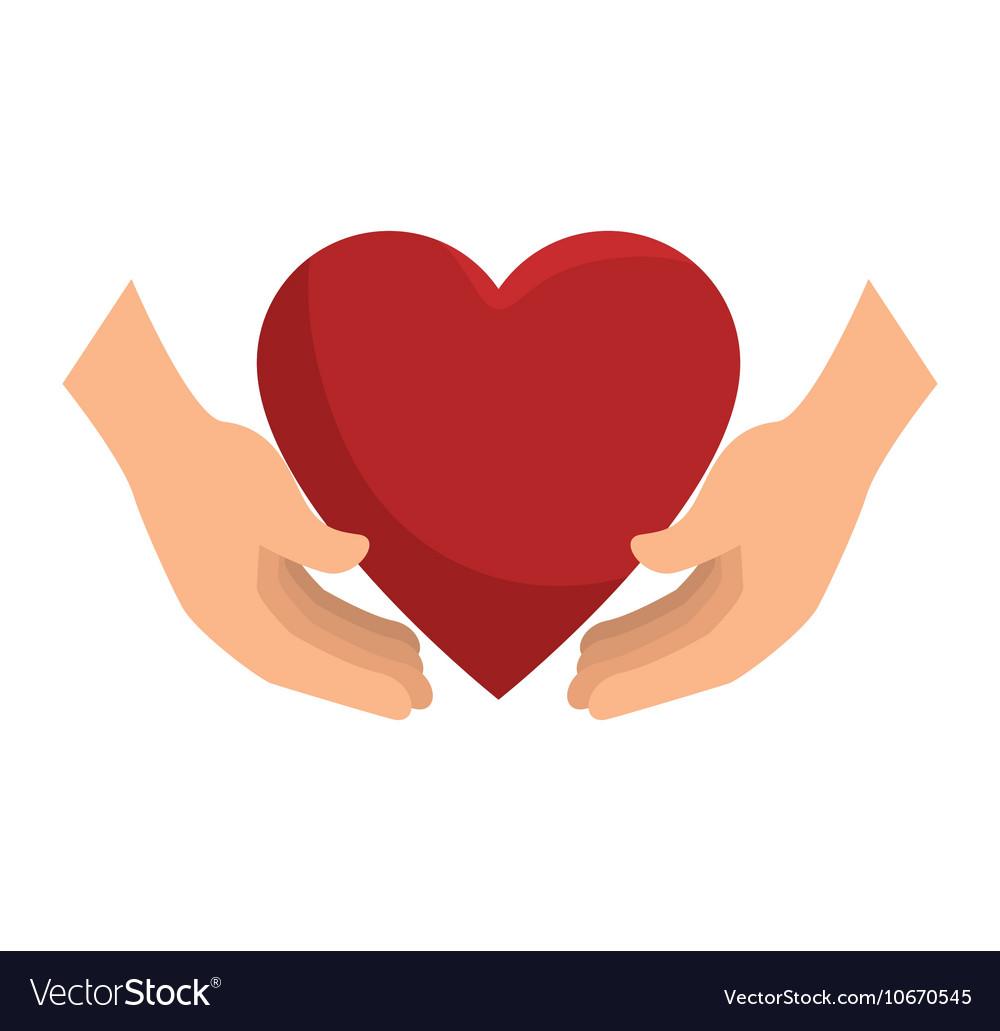 Icon insurance heart health design