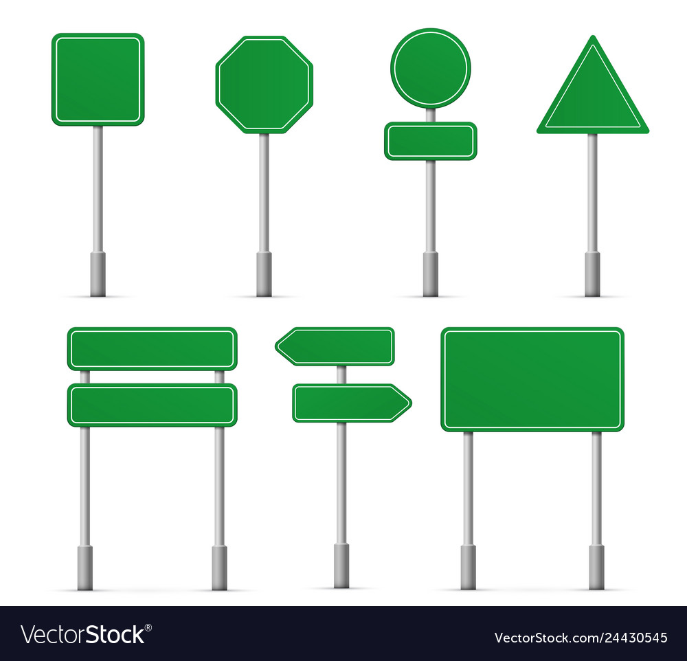 Road board highway signs icons street signboard