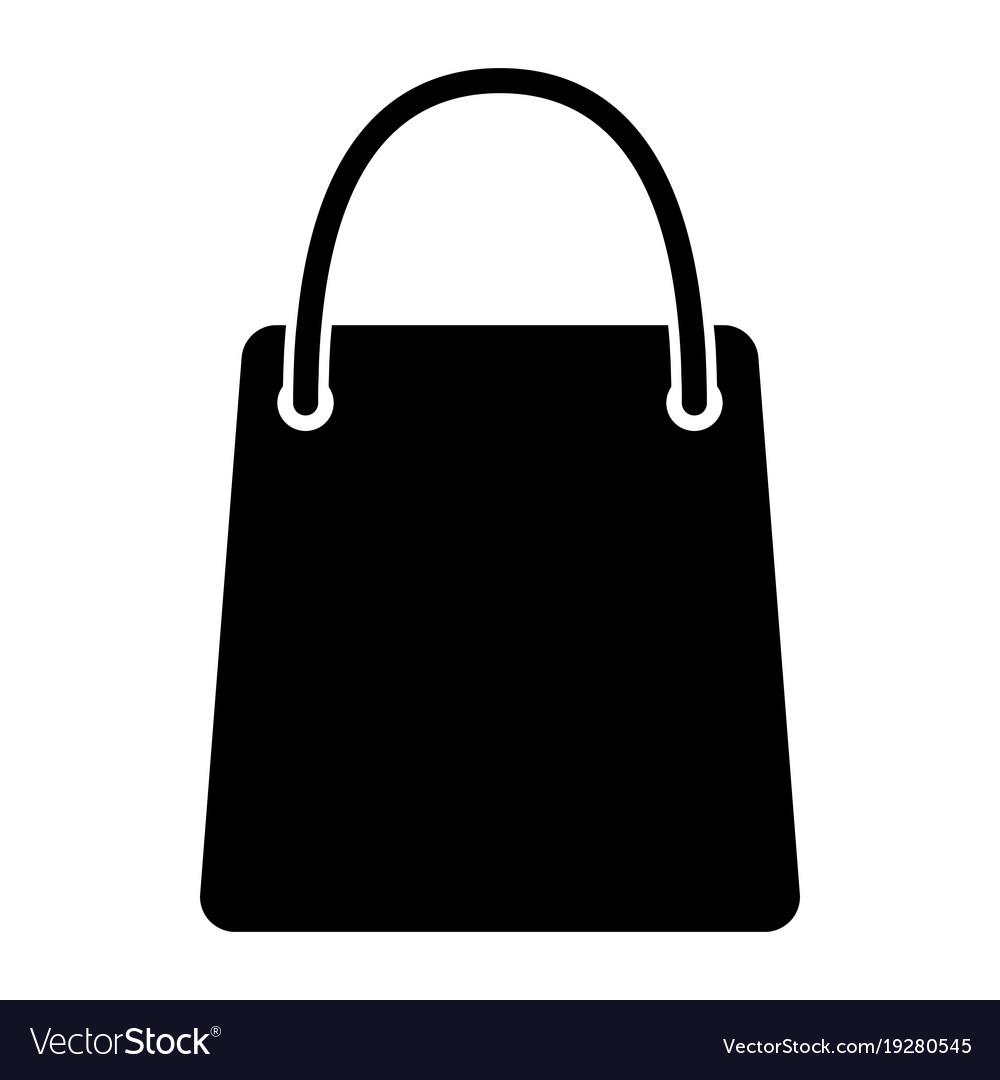 Shopping bag silhouette icon 48x48 pictogram