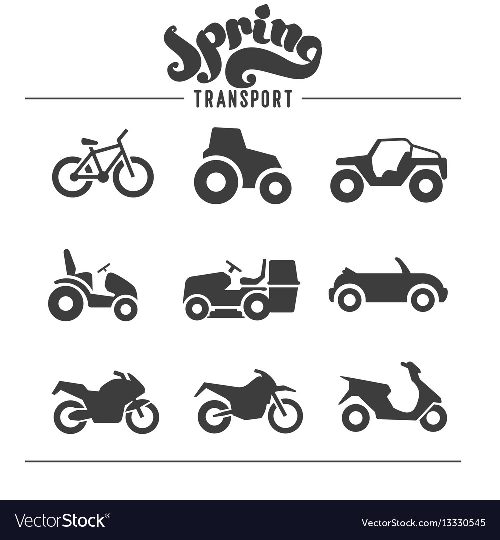Simple set of auto related icons for your