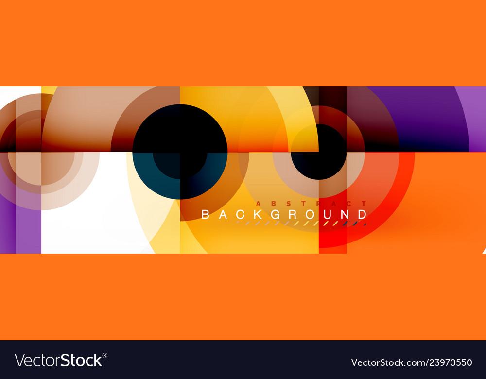 Circle composition geometric minimal