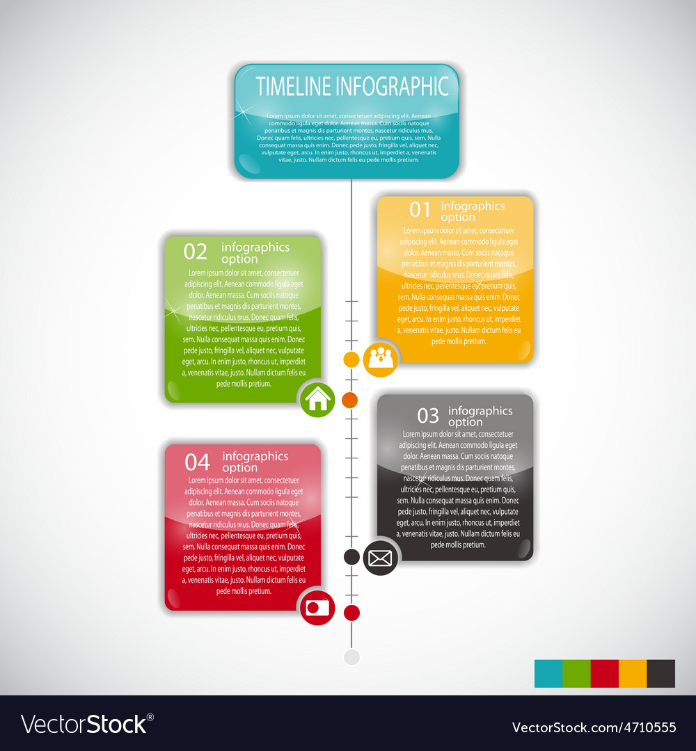 Infographic Templates For Business Royalty Free Vector Image