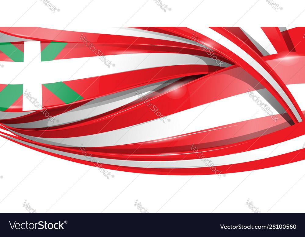 Basque banner background flag flag