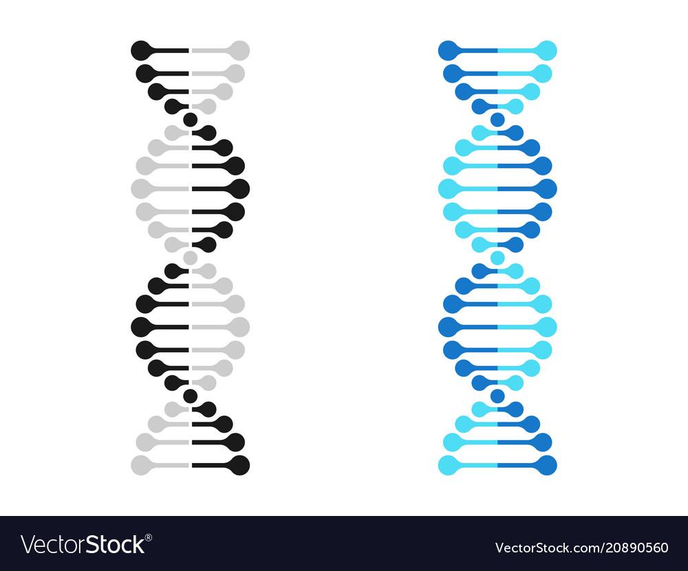 Dna icon chromosome genetics gene molecule