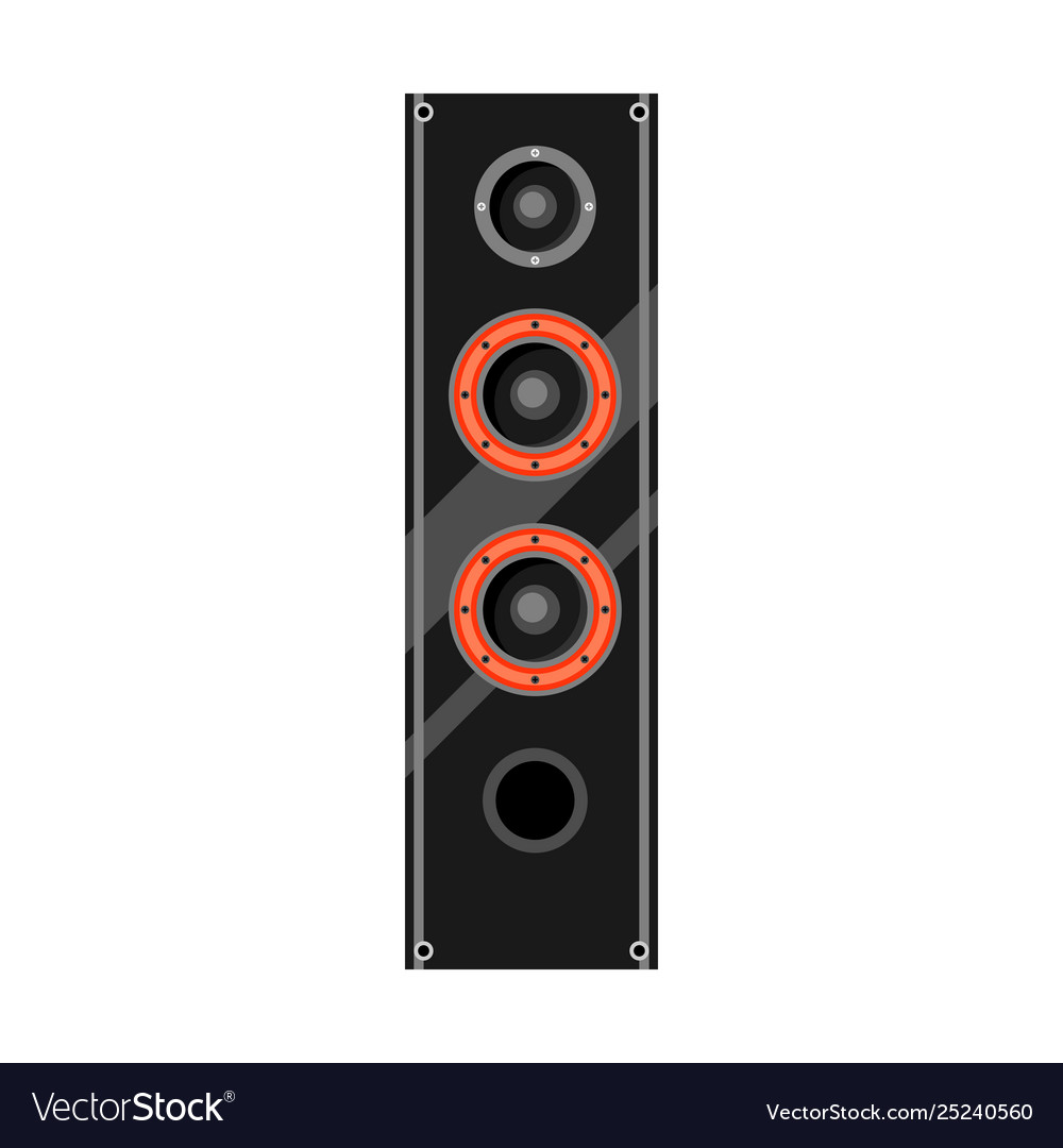 Icon sound system speaker