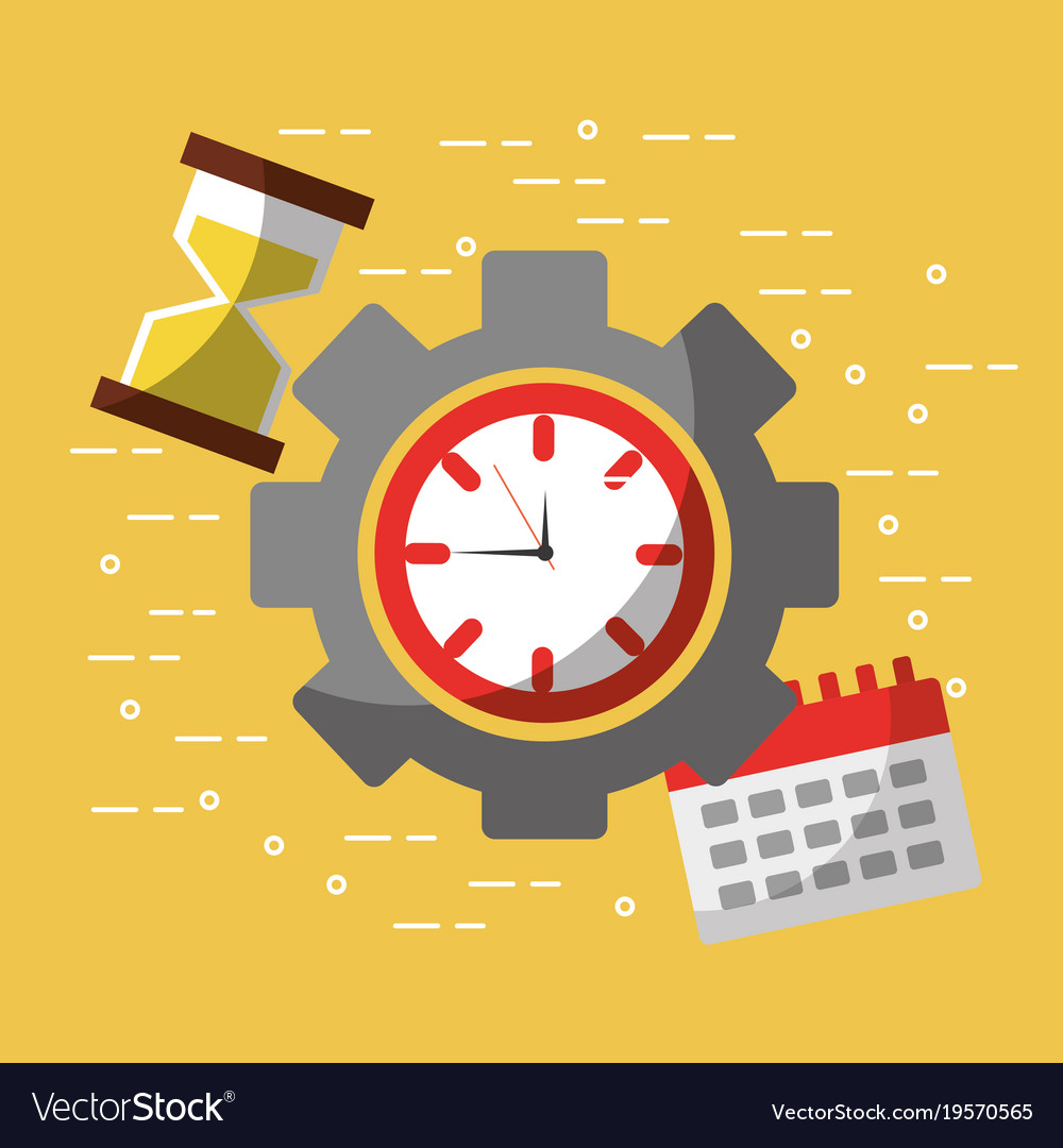 Time Work Business Calendar Hour Glass
