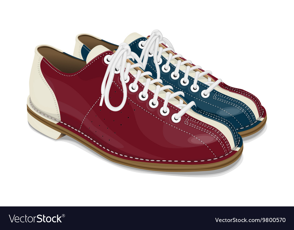 f81d81c166f Bowling shoes red and blue
