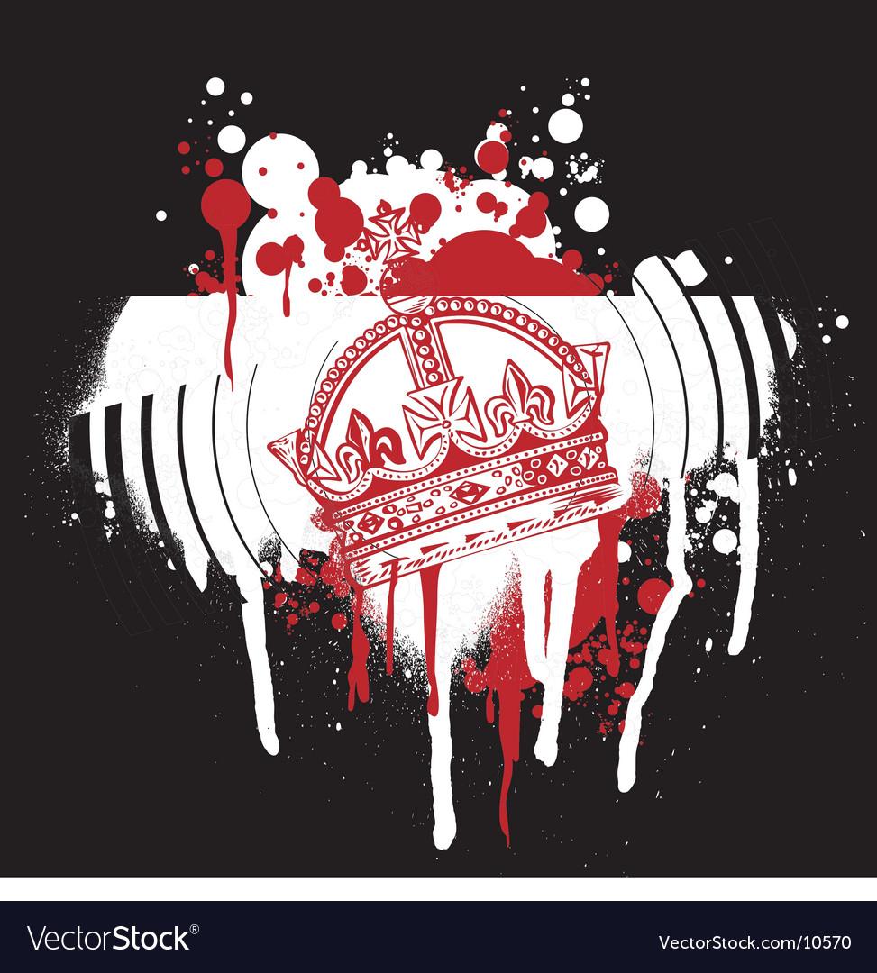 Graffiti crown