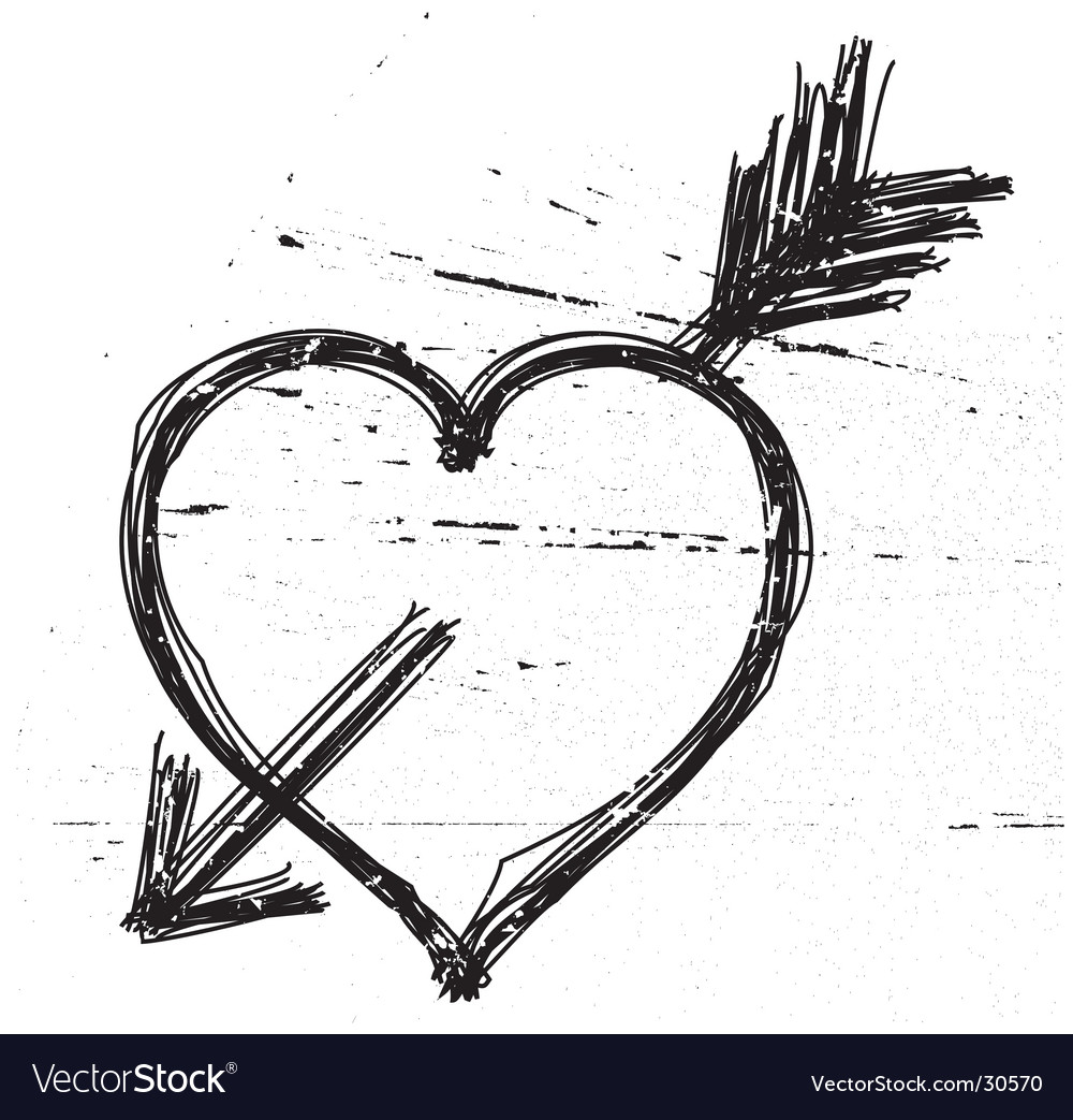 broken love heart symbol