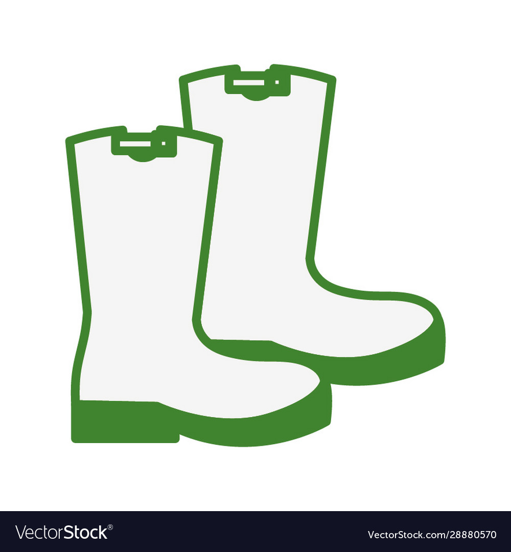 Rubber Boots Shoes Gardening Equipment