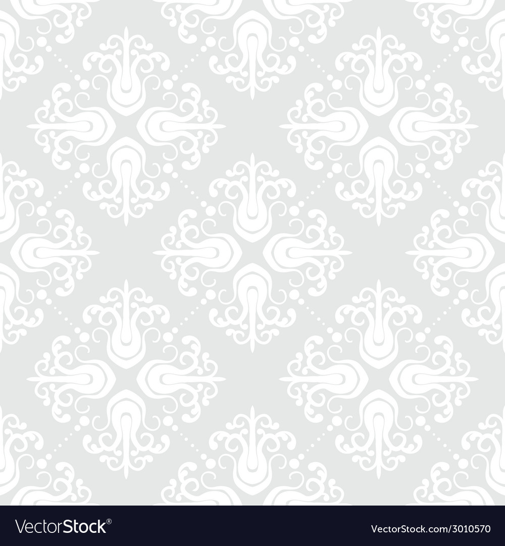 White geometric texture in art deco style vector image