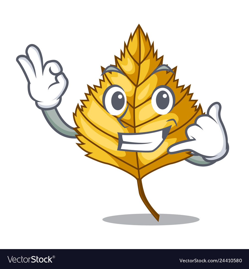 Call Me Birch Leaves Next Cartoon Tree Royalty Free Vector I don't want to say 'difficult' because really — follow the. vectorstock