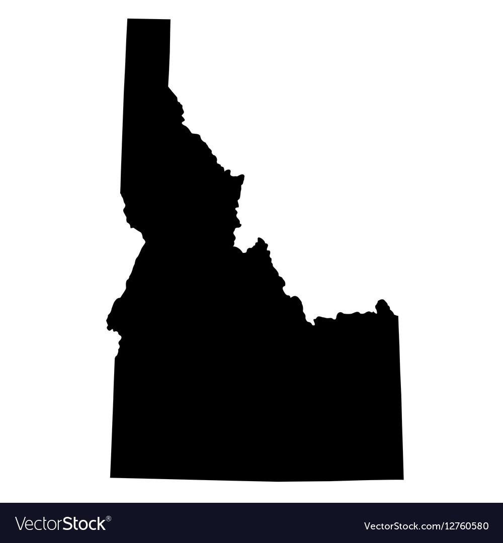 Map of the US state Idaho Idaho Us Map on us location in idaho, world map idaho, product map of idaho, oregon idaho,