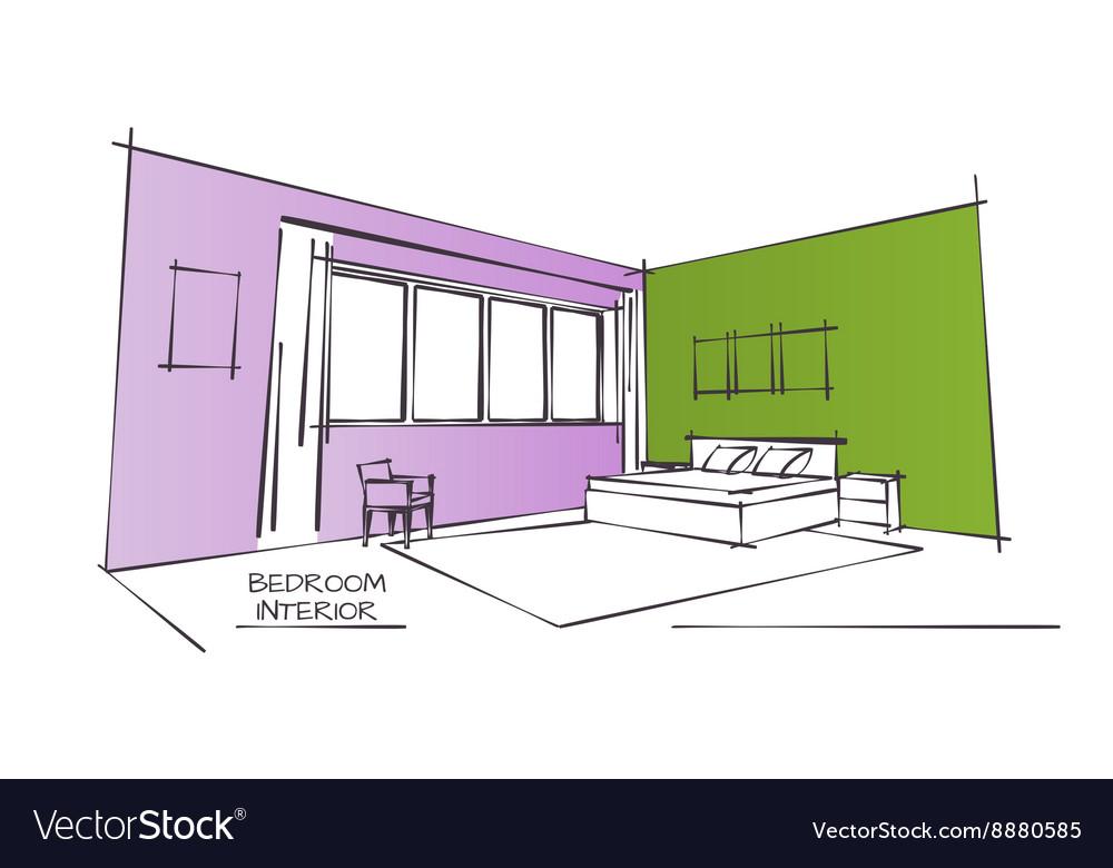 Color Interior Drawing