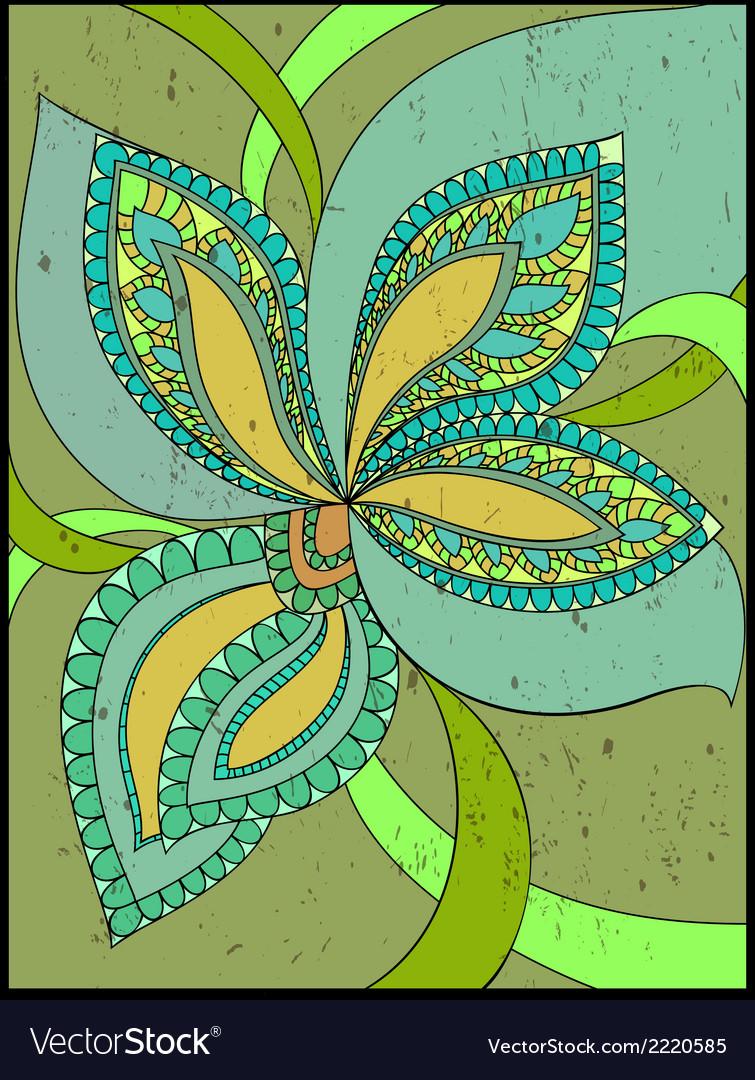 Floral fantasy background