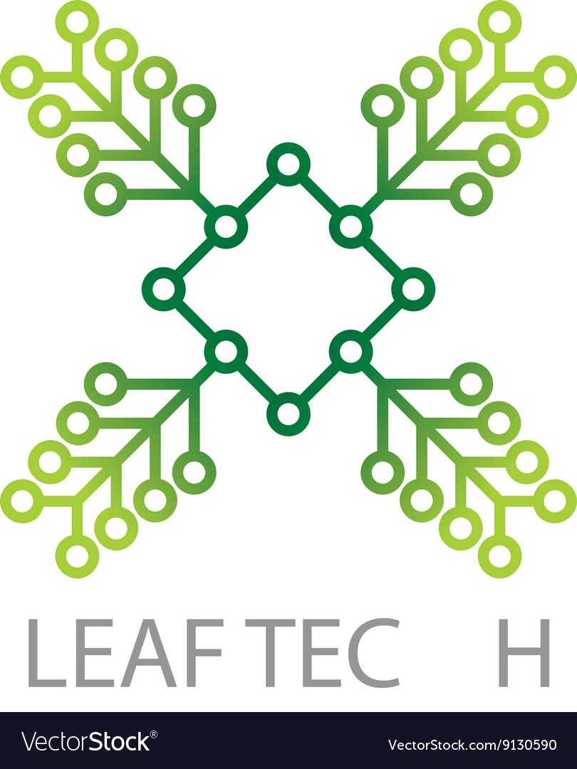 Design Logo Connection Icon Symbol vector image