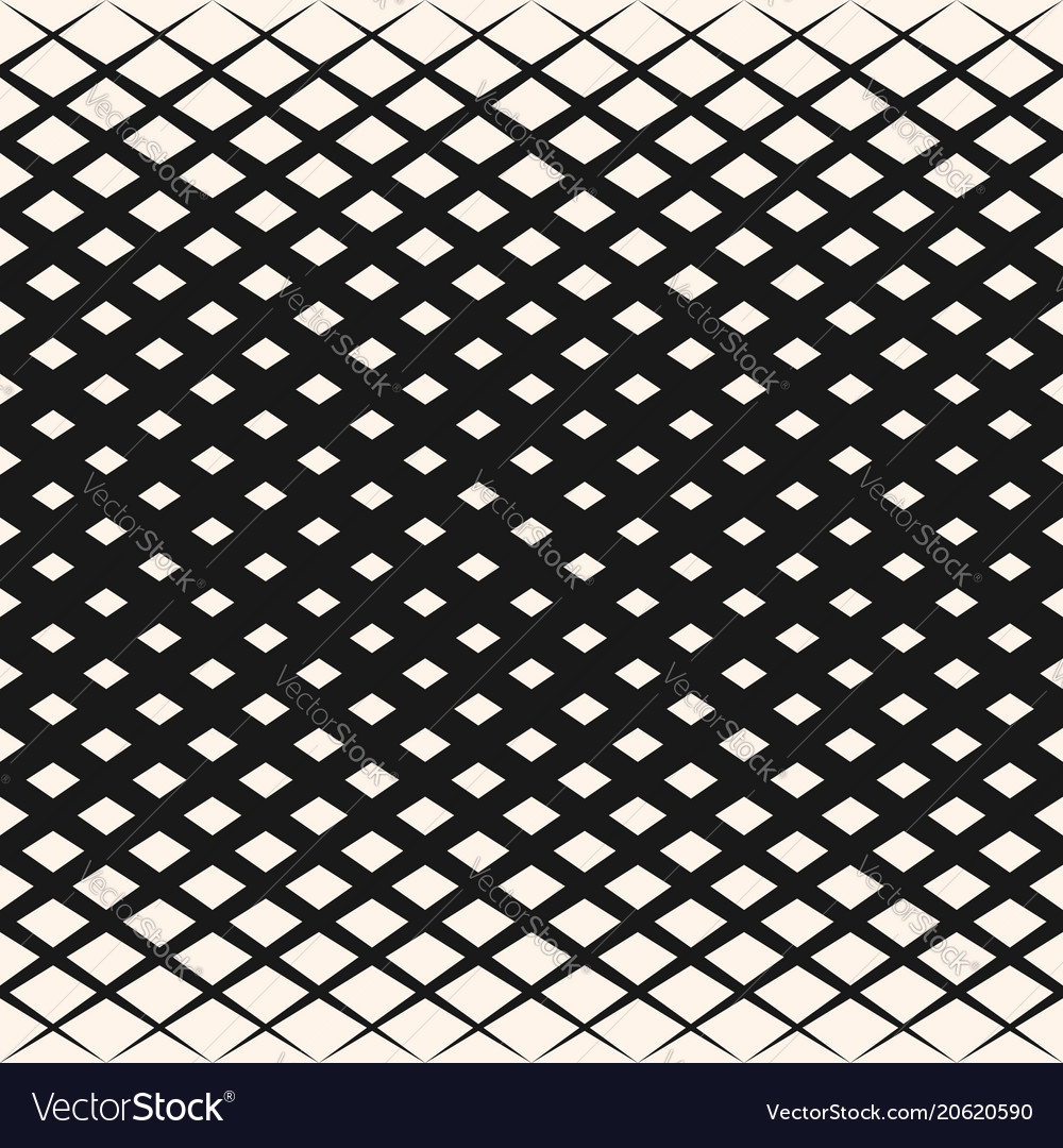 Halftone geometric pattern with rhombuses diamond
