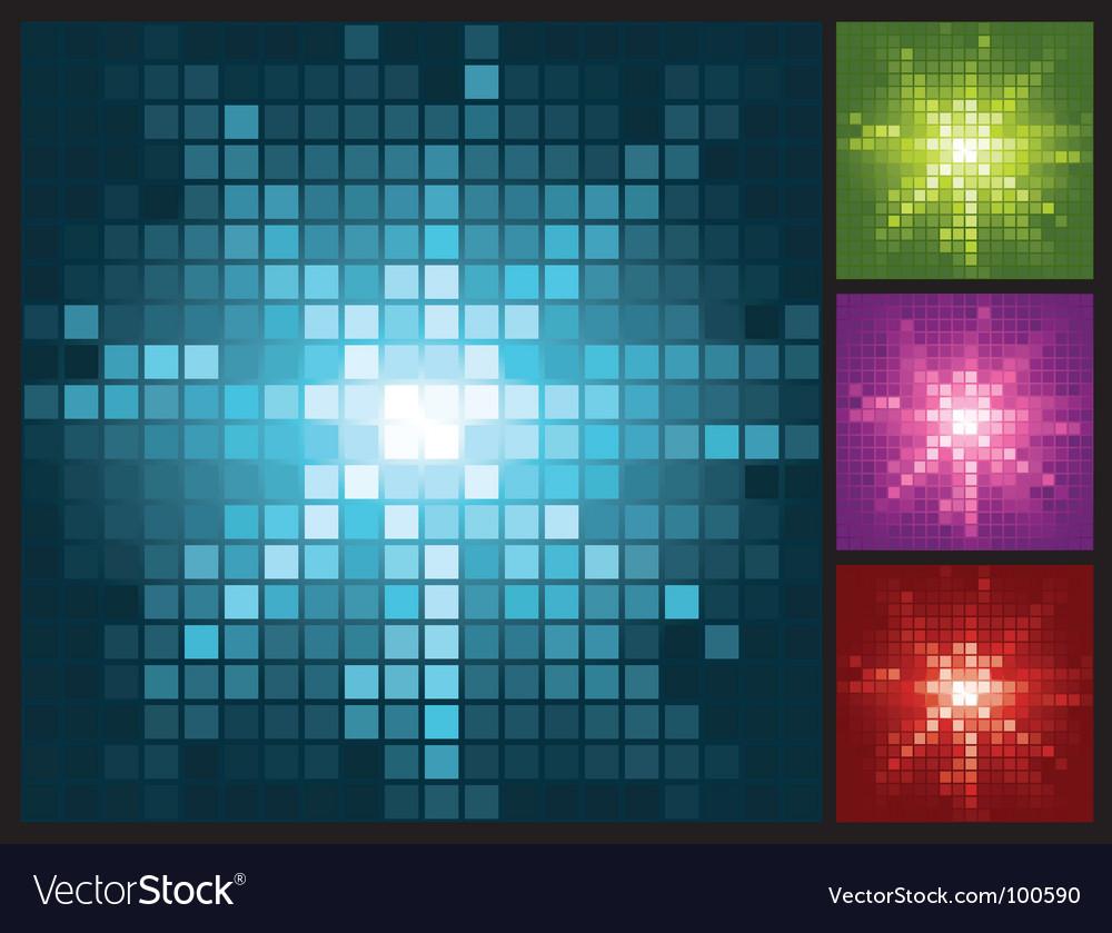 Halftone sun vector image