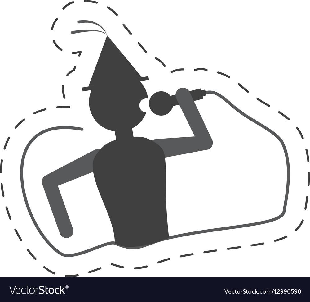 Man singing party icon image