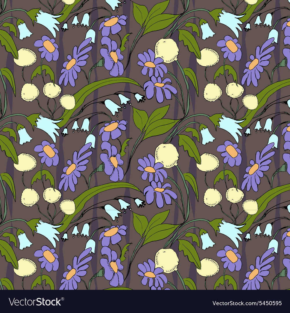 Beautiful floral abstraction Flower raster