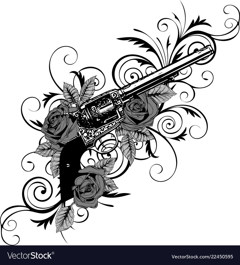 Guns on the flower