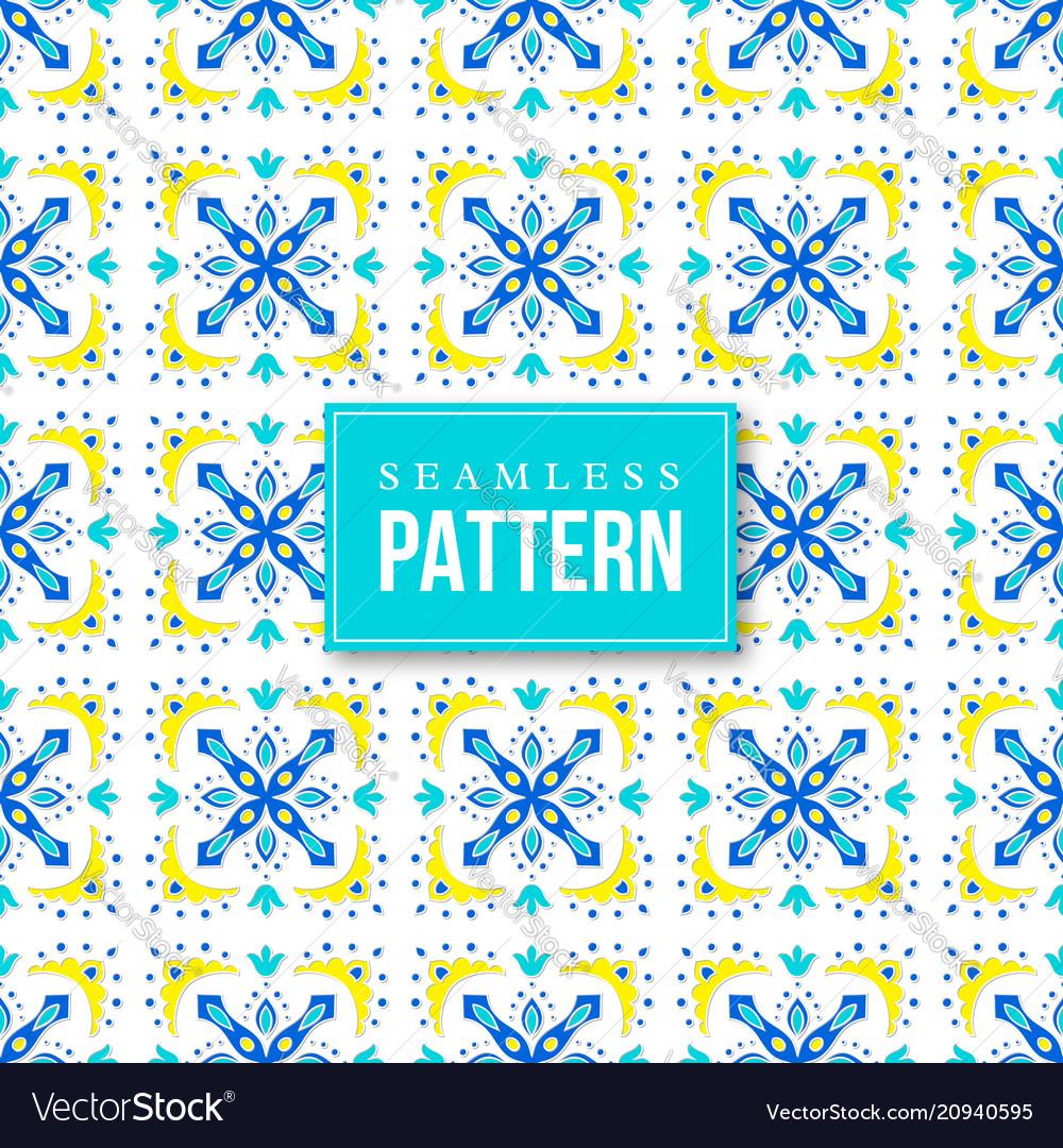 Seamless ornamental pattern traditional turkish