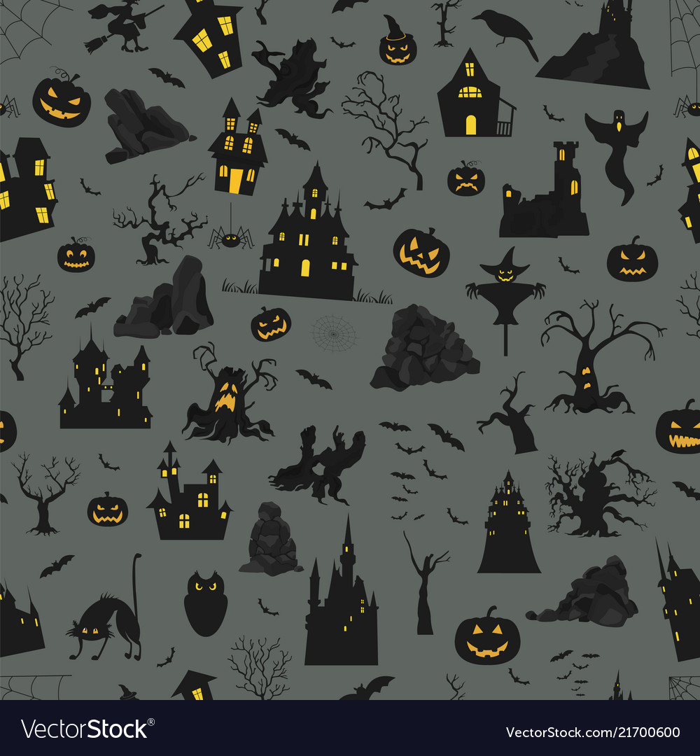 Halloween holiday info graphic elements flat