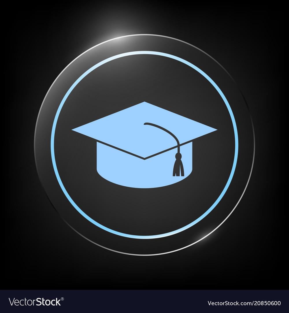 Master cap for graduates square academic cap