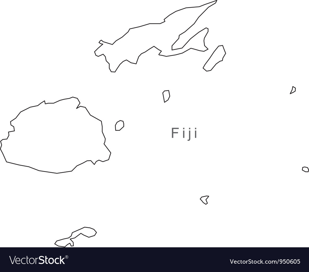 Fiji Islands On Map Of World