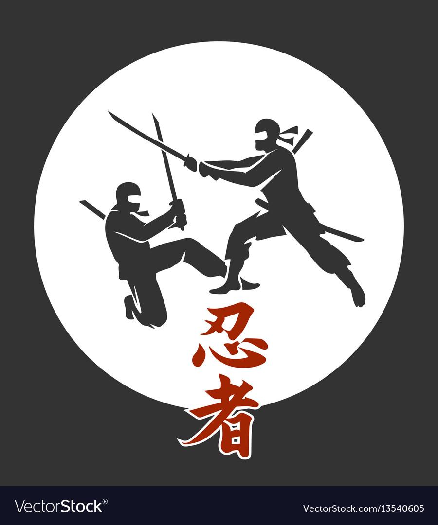 Japanese ninja poster asian martial arts