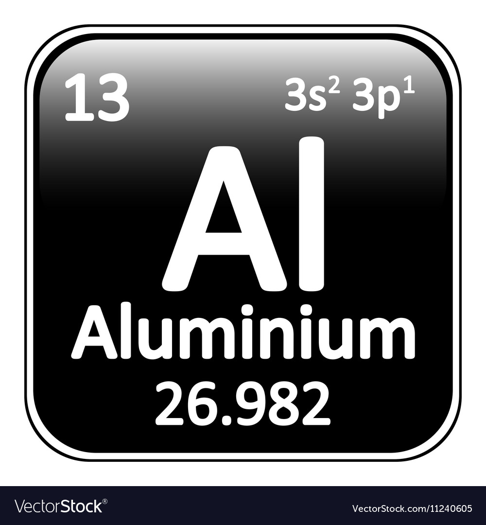 periodic table aluminum fresh stickers cafepress mateiko info