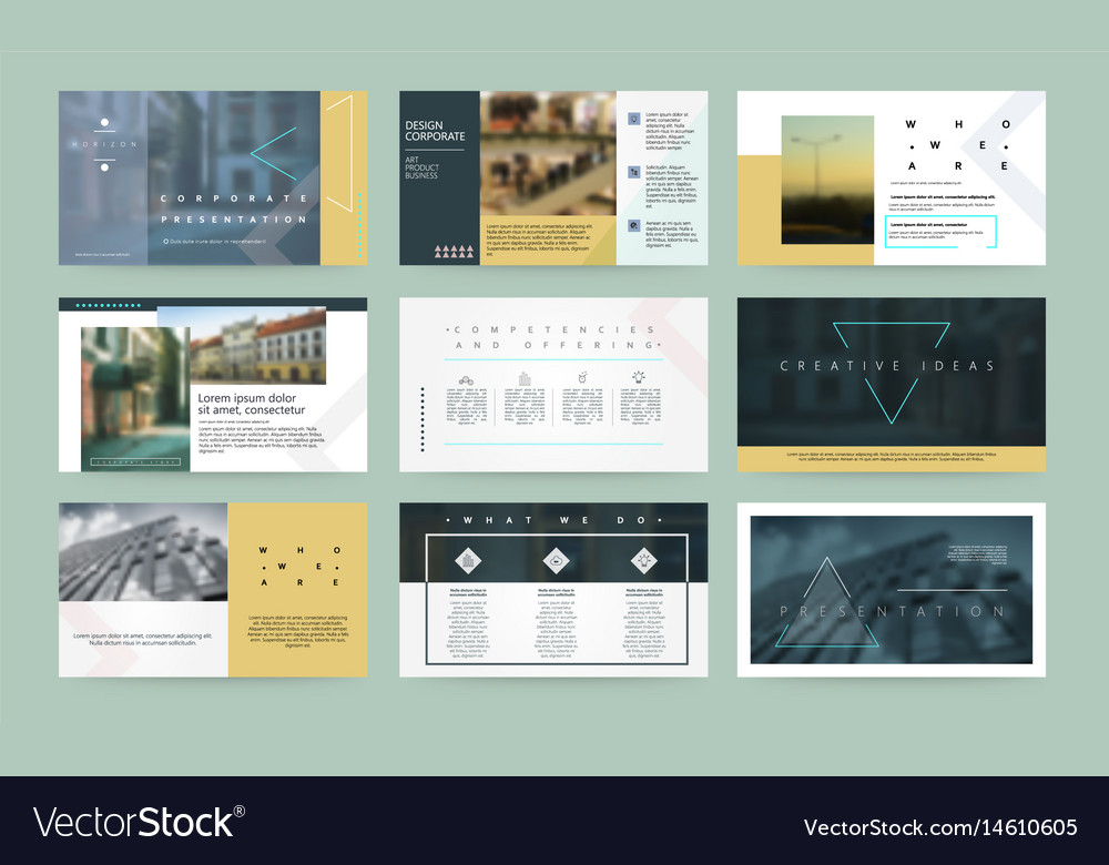 Presentation templates business template for