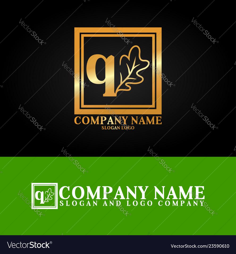 03 oak letter q