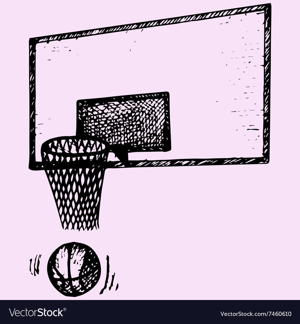 Basketball backboard basket ball movement