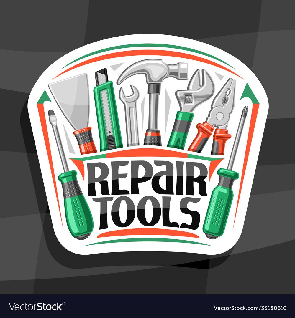 Logo for repair tools