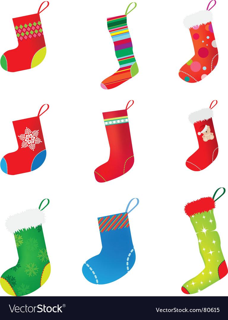 Christmas stocking set