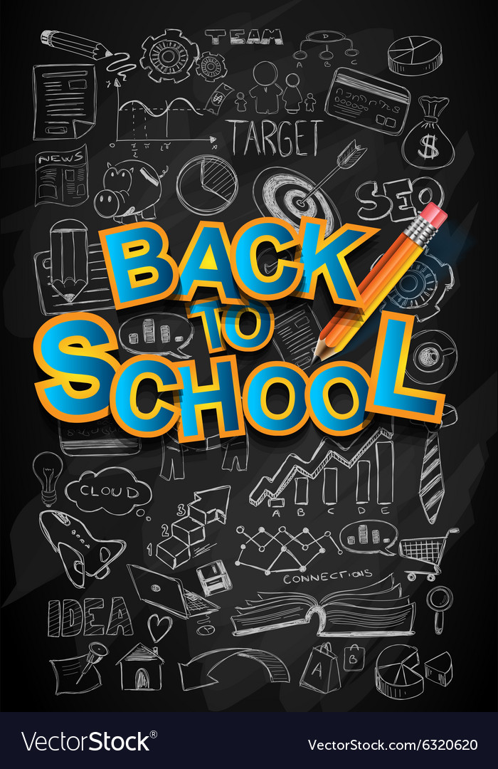 Back to School Background to use for advertiments