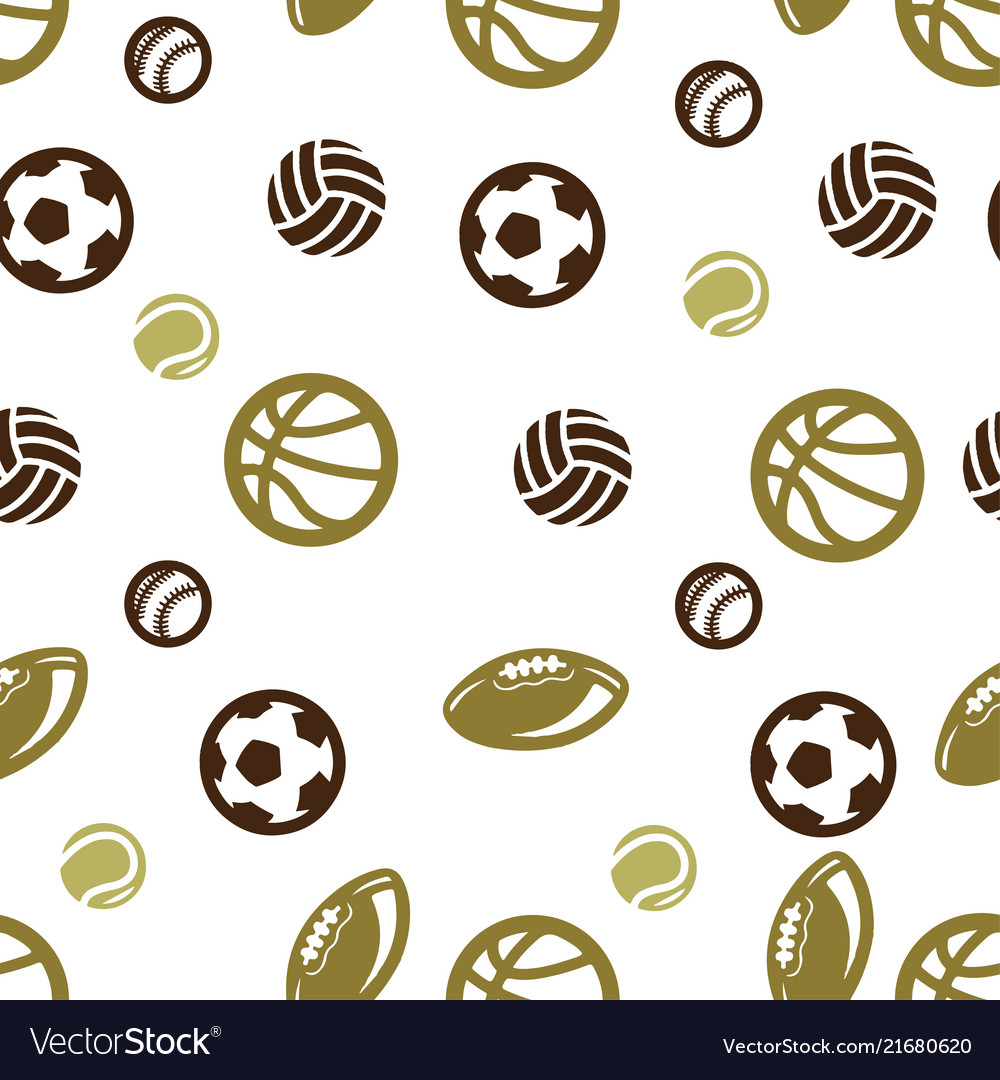 Ball pattern seamless isolated