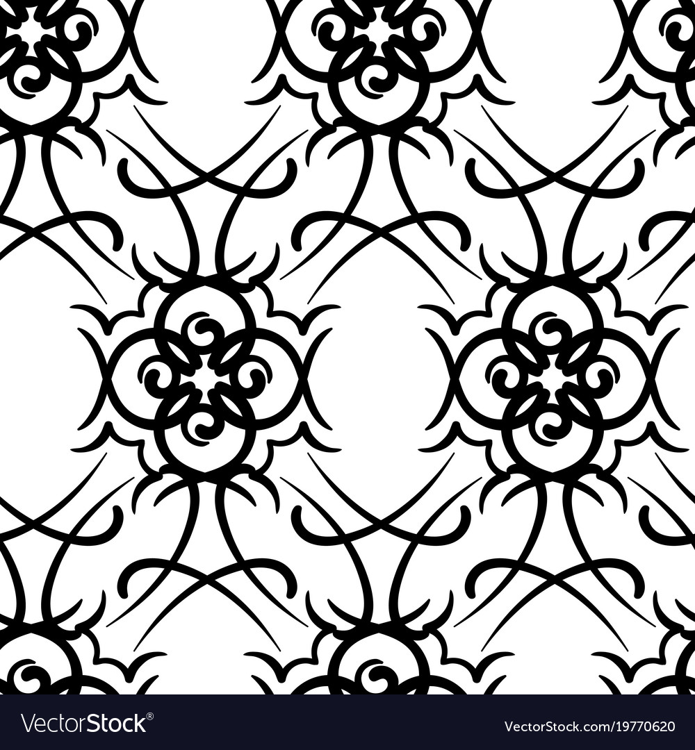 2841ab445e3bc Seamless repeating modern tribal tattoo background vector image