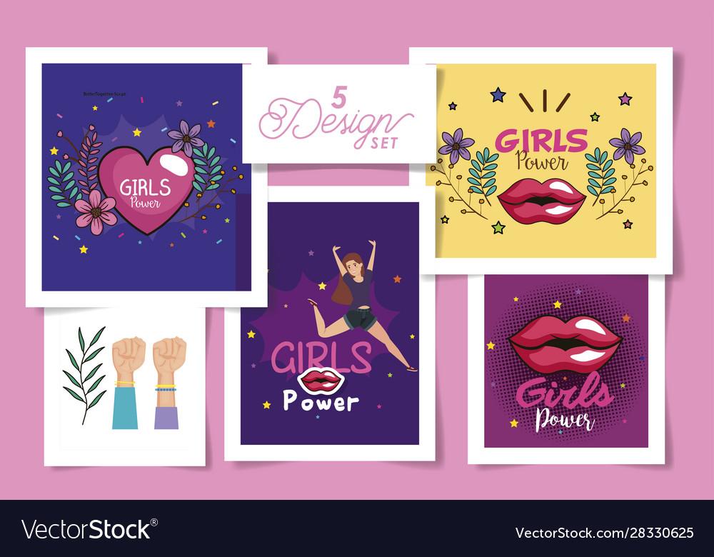 Girl Power Cards