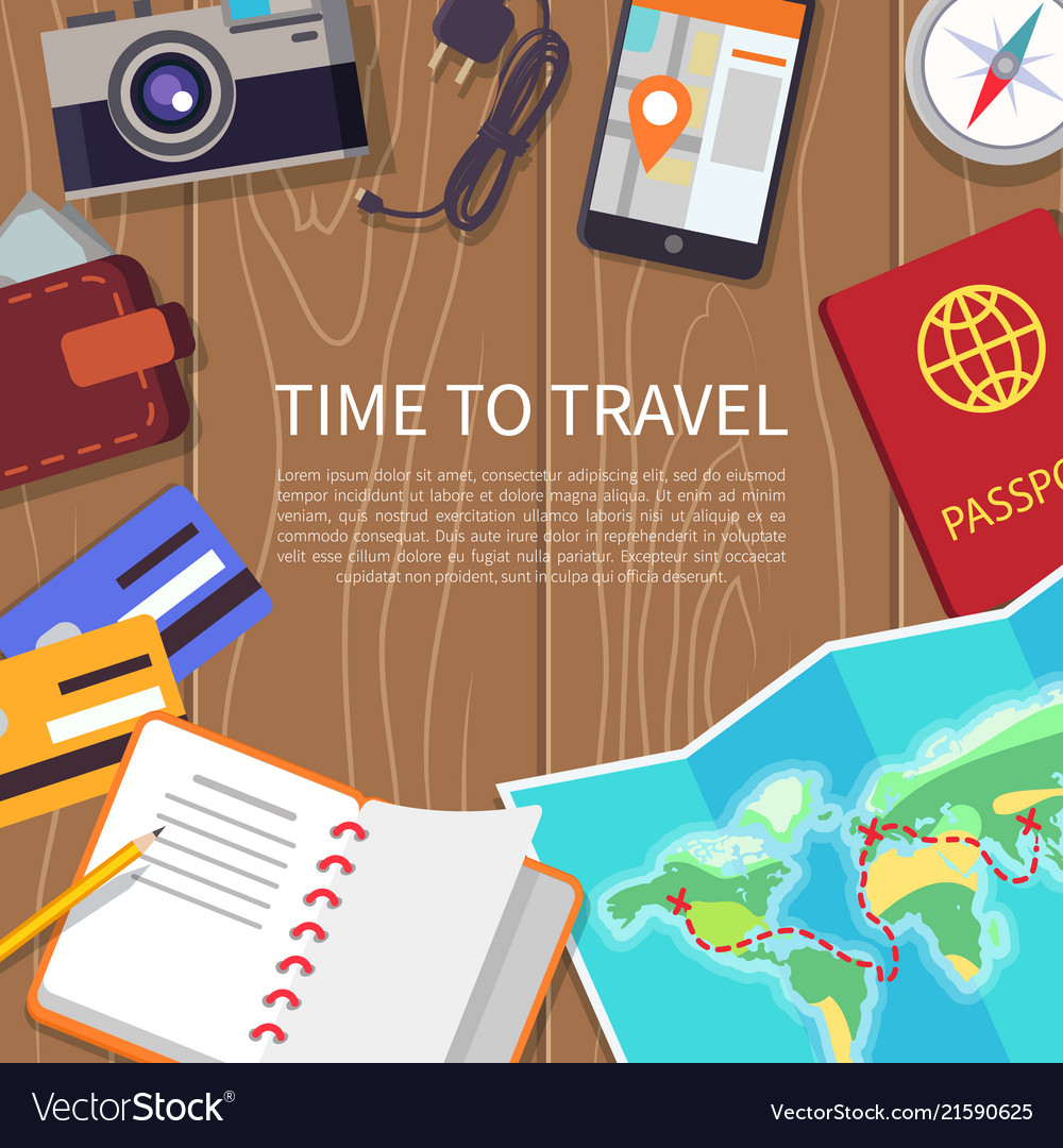 Time to travel poster set