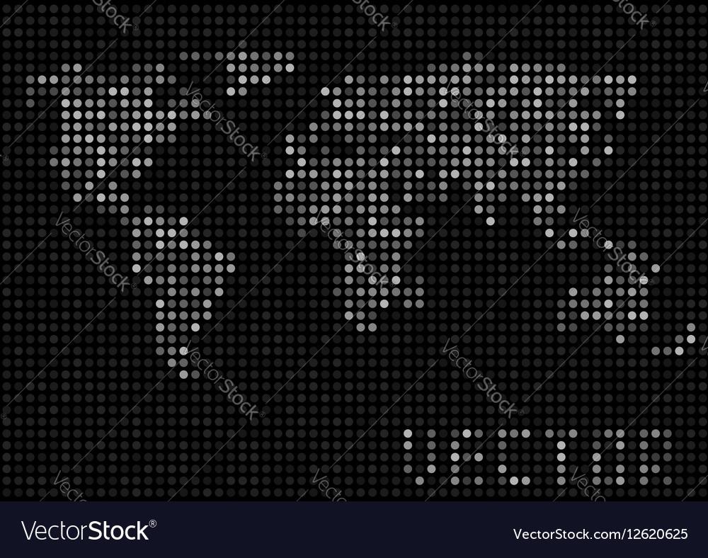 World map dots royalty free vector image vectorstock world map dots vector image gumiabroncs Choice Image