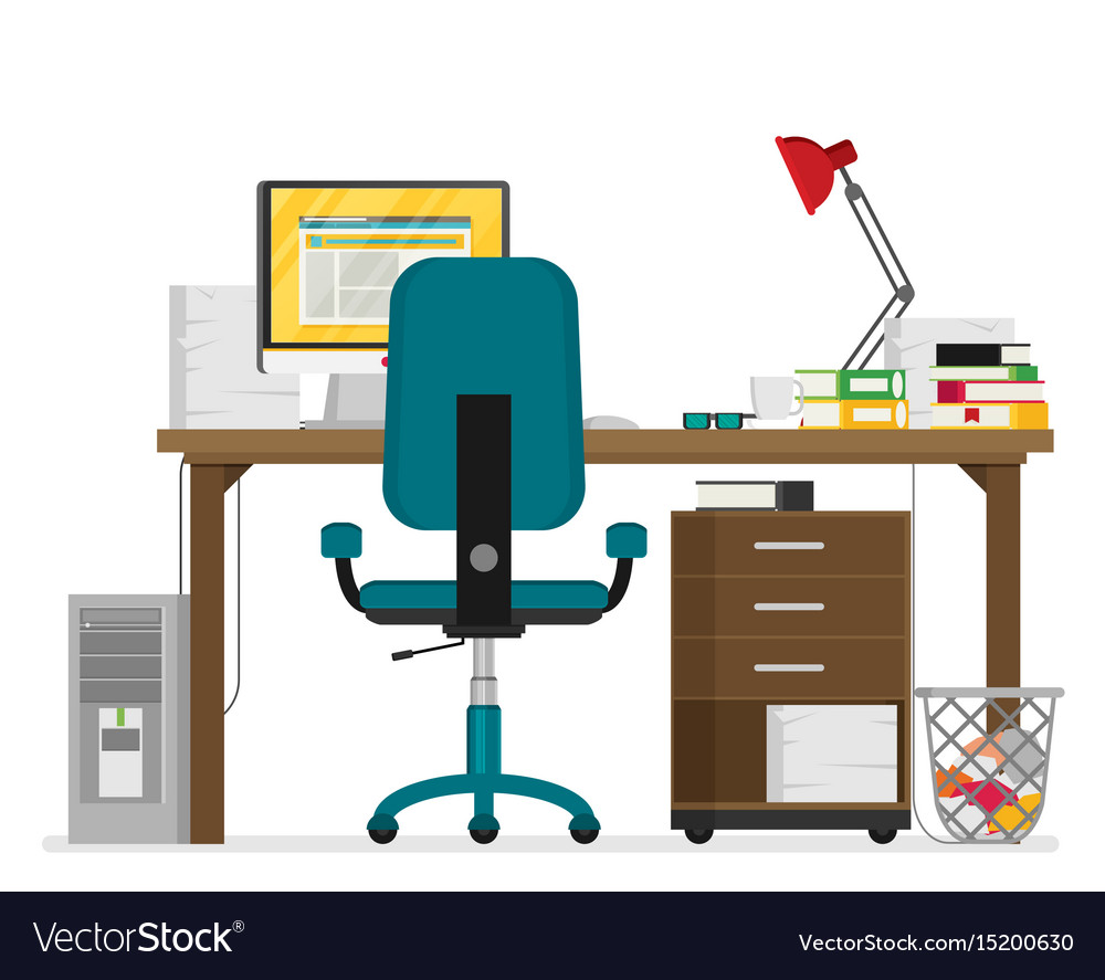 Flat working place