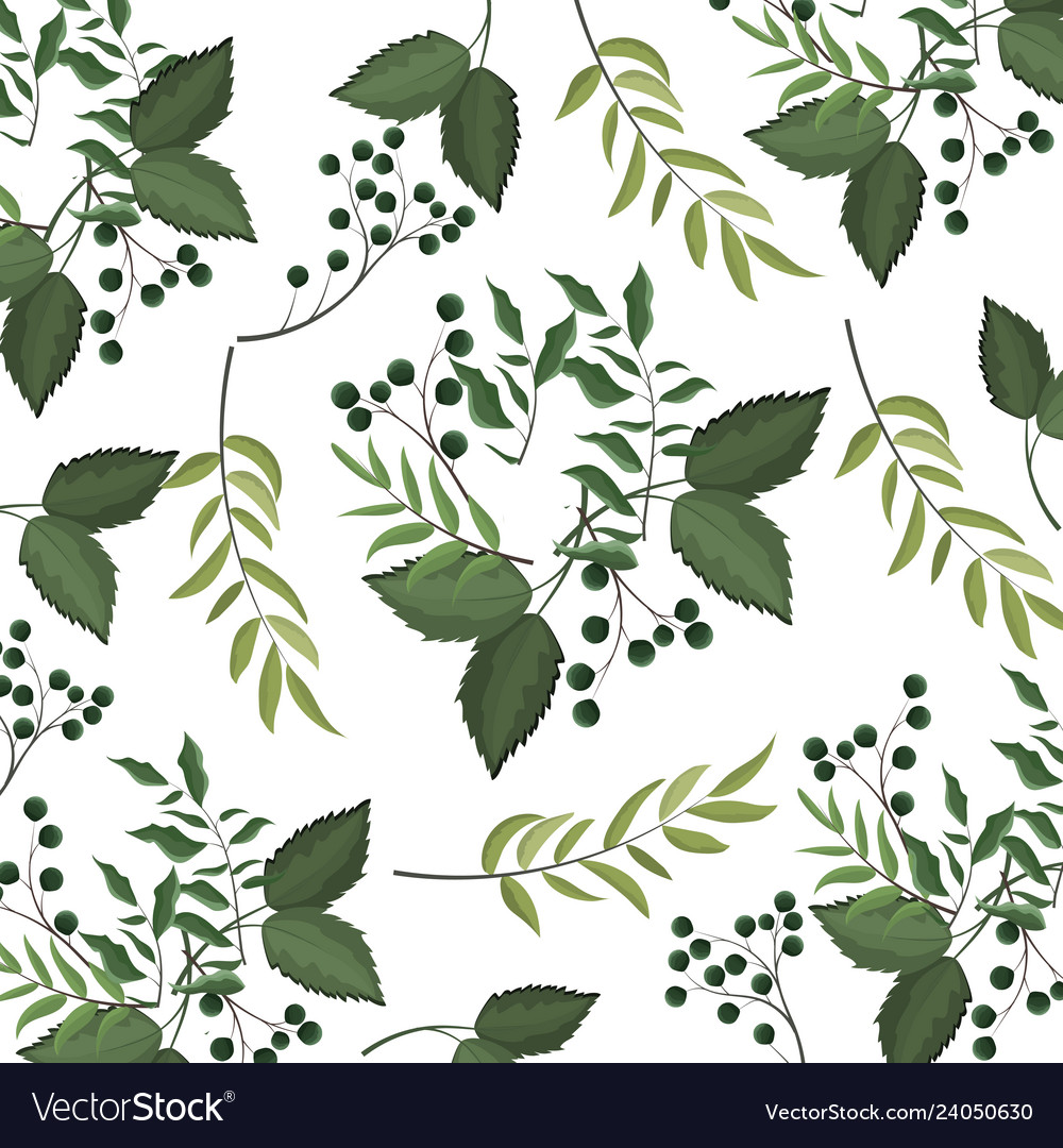 Leaves nature background