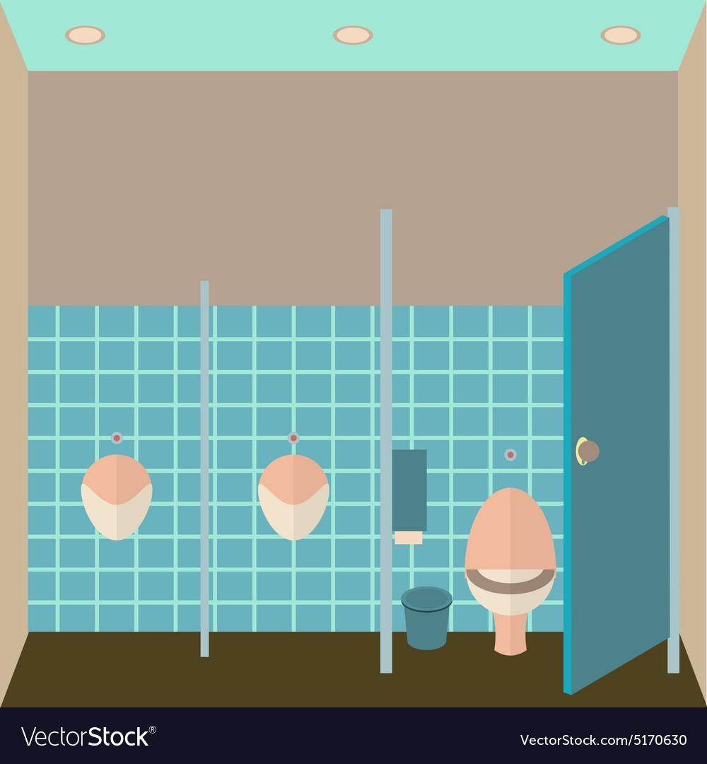 Toilet interior Public
