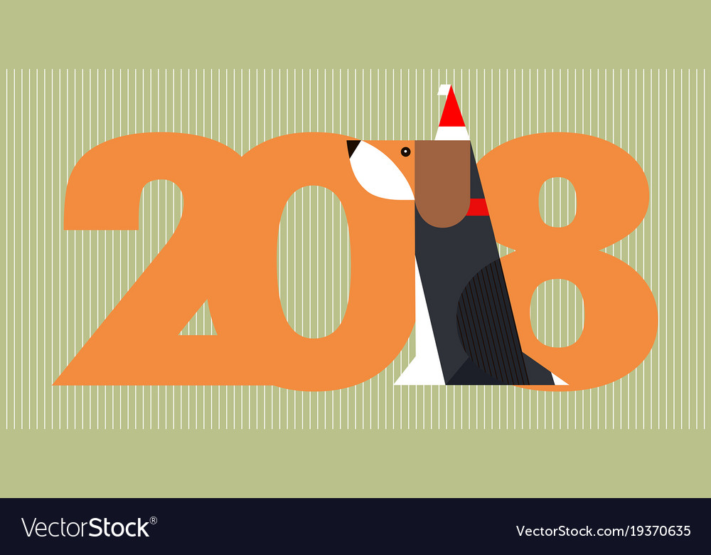2018 year of dog - happy chinese new year