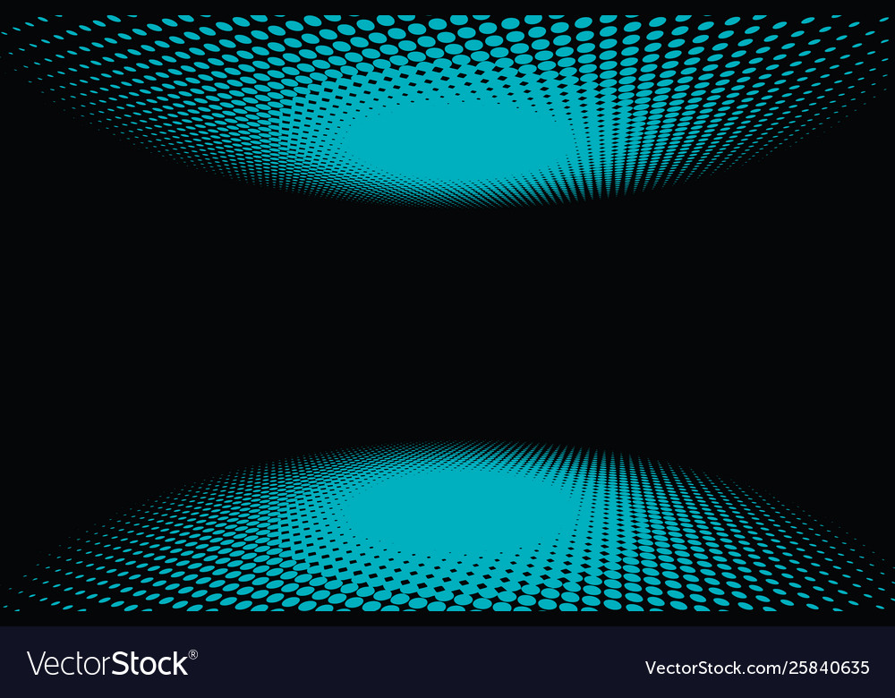 Black green turquoise halfton abstract background