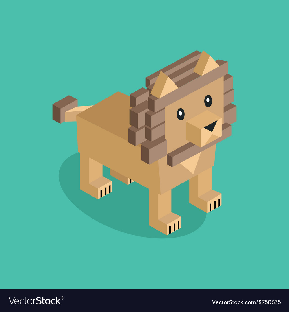 Lion is Brown